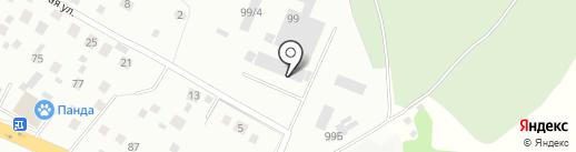 Электрокабель на карте Нахабино