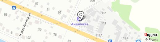 АЗС Автопикет на карте Нахабино