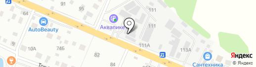 Магазин строительных материалов на карте Нахабино