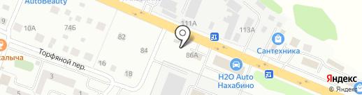 Магазин автозапчастей на Советской на карте Нахабино