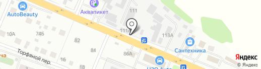 Шашлычная на карте Нахабино