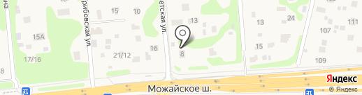 Белый город на карте Дубков