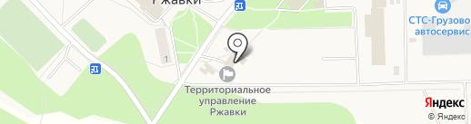 Администрация городского поселения Ржавки на карте Ржавок