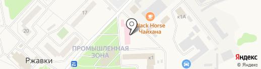 Участковый пункт полиции на карте Ржавок