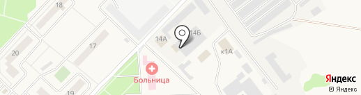 Автомойка на карте Ржавок