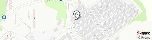 Шиномонтажная мастерская на карте Ржавок