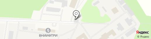 Всероссийский НИИ физико-технических и радиотехнических измерений на карте Менделеево