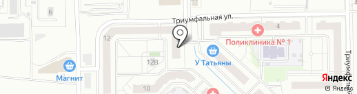Express Beauty Bar на карте Одинцово