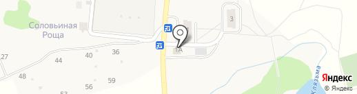 ГУАС на карте Менделеево