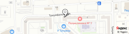 Bodytime на карте Одинцово