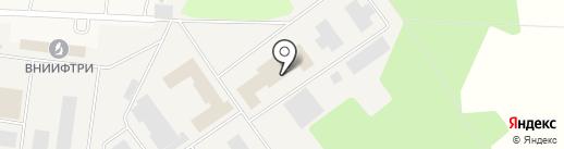 ВНИИФТРИ на карте Менделеево