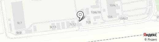 Водос на карте Одинцово