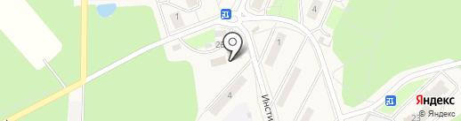 Хмельной дворик на карте Менделеево