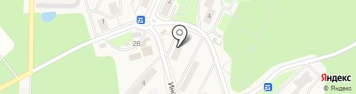 Аксамит на карте Менделеево