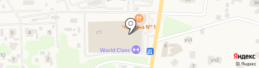 World Class на карте Жуковки
