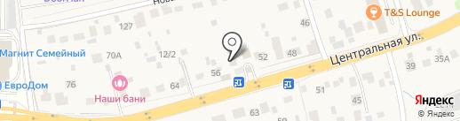 Кузов Маркет на карте Акулово