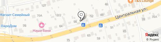 Плимут на карте Акулово
