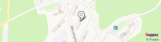 Участковый пункт полиции на карте Менделеево