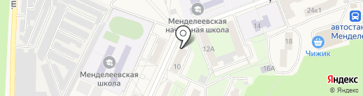 Миш мед на карте Менделеево