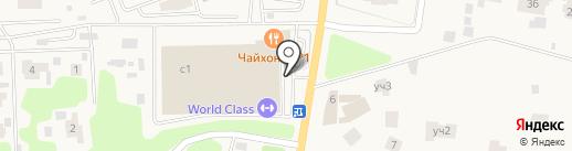 Академия Бокса Флойда Мейвезера на карте Жуковки