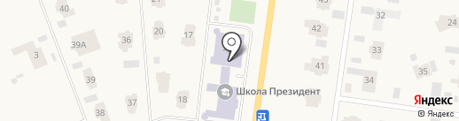 Зеленый маяк на карте Жуковки