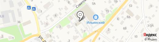 Ильинское отделение полиции на карте Ильинского