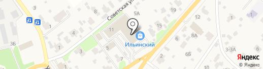 Ильинка на карте Ильинского