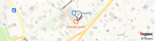 Волконский на карте Ильинского
