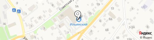 Перекресток на карте Ильинского