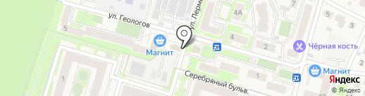 Мясной дом №1 на карте Красногорска