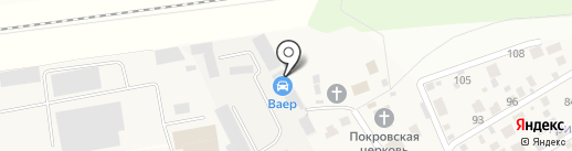 Соловьёв П.В. на карте Акулово