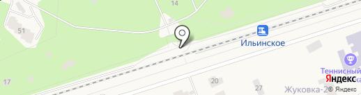 Ильинское на карте Жуковки