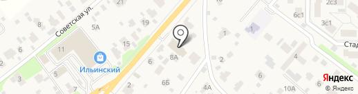 Rico на карте Ильинского