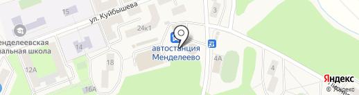 Продуктовый магазин на карте Менделеево
