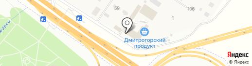 Дмитрогорский продукт на карте Ржавок