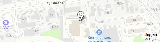 СпецГрузШина на карте Одинцово
