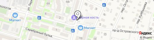 Велес на карте Красногорска