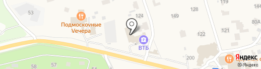 Ventana на карте Жуковки