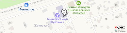 Жуковка на карте Жуковки
