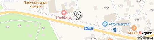 Фруктовая корзинка на карте Жуковки