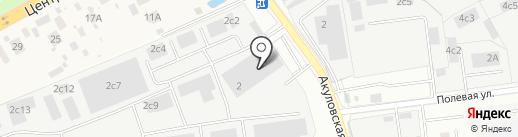 Решение на карте Одинцово