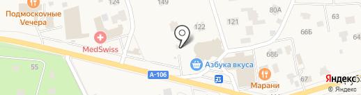 Супермаркет на карте Жуковки