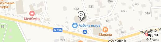 Мобайл сервис на карте Жуковки