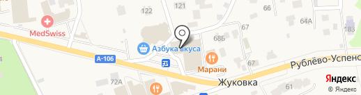 55 на карте Жуковки