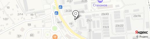 ГАЗ на карте Одинцово