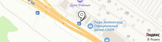 Белый Сервис на карте Ржавок