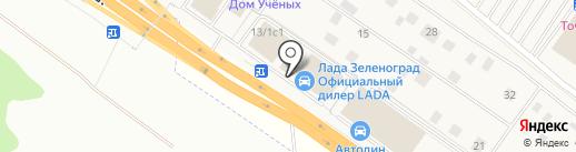 Аванта-Зеленоград на карте Ржавок