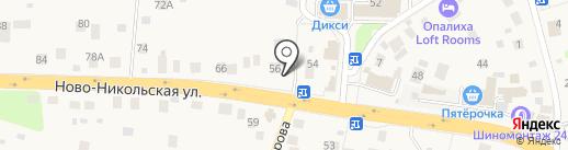 Гидрогеология на карте Красногорска