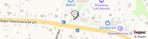 Продуктовый магазин на карте Красногорска