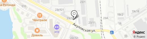 ОдинМет на карте Одинцово